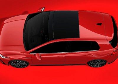 VW Golf GTI 8. Generation von oben