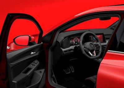 VW Golf GTI 8. Generation offene Fahrertür