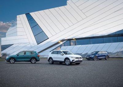 VW Tiguan Modellpalette 2021