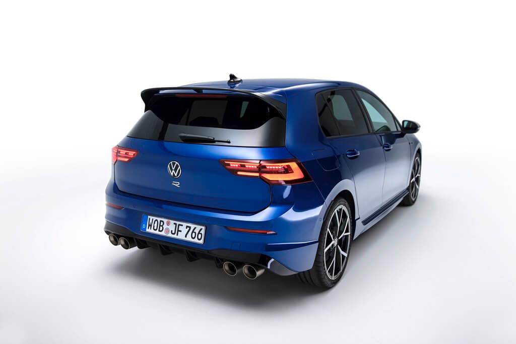 VW Golf R Heck
