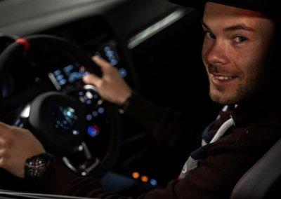 Benny Leuchter im VW Golf GTI der 8. Generation