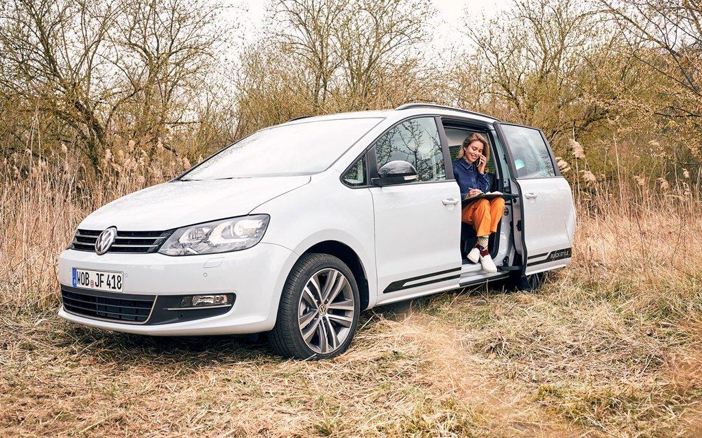 VW Sharan – Das rollende Homeoffice