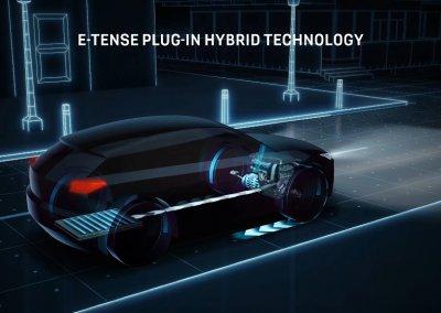 DS 4 E-Tense Plug-in Hybrid Technik