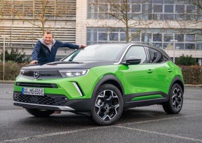 Opel Mokka-e mit Dietmar Stanka