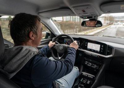 Opel Mokka-e Fahrt Dietmar Stanka