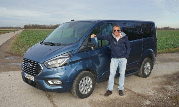 Ford Transit Custom PHEV – Elektrisch geladen
