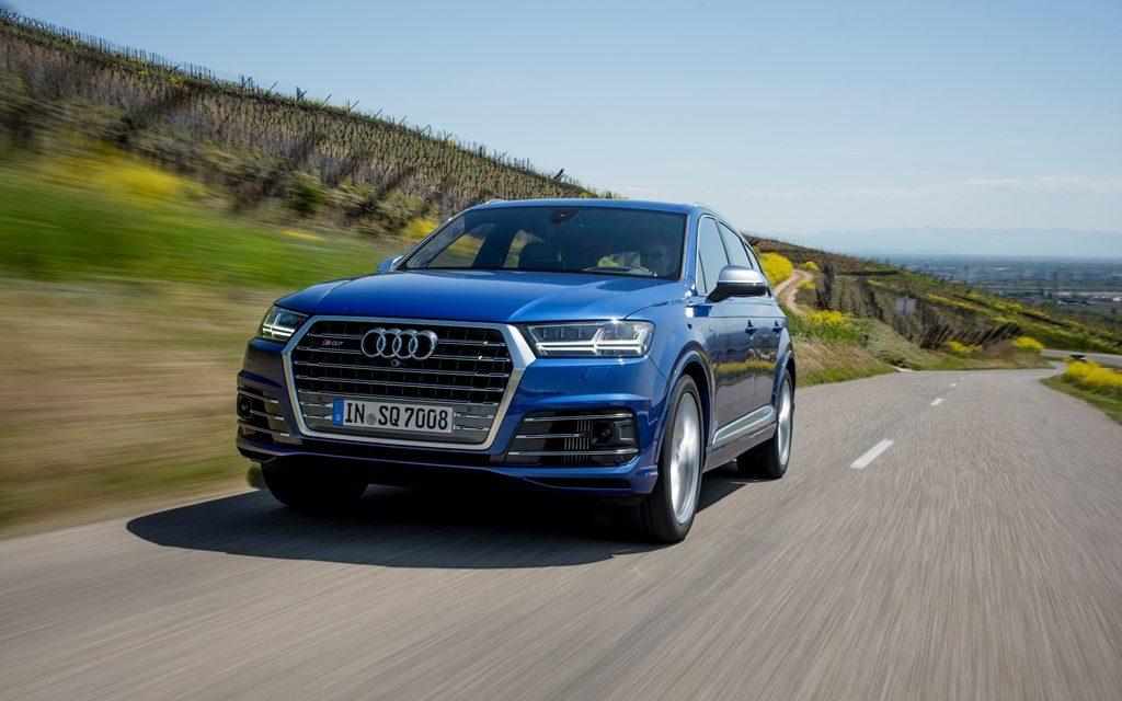 Audi SQ7 TDI – 48-Volt-Power
