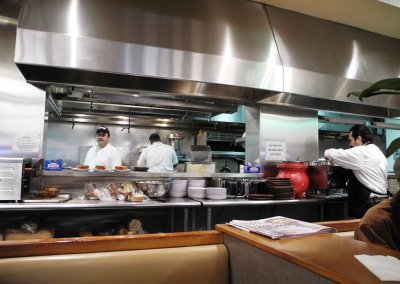 Lou Mitchells Kitchen
