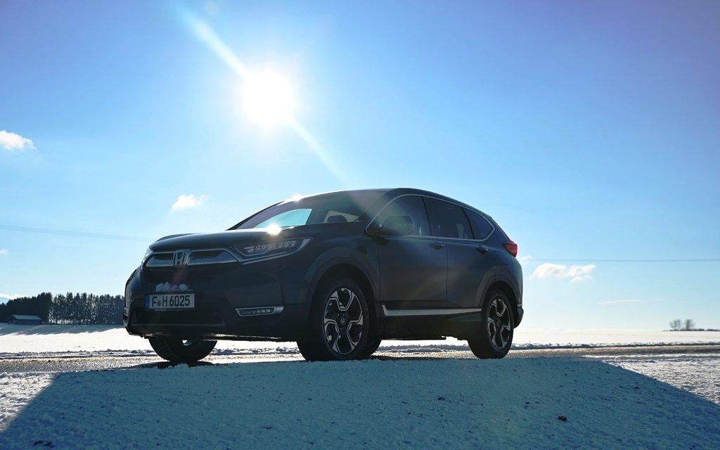 Honda CR-V e:HEV – Hybrid mal anders