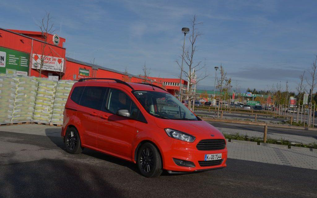 Ford Tourneo Courier – Cooler Kasten