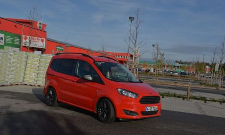 Ford Tourneo Courier – Cooler Kasten