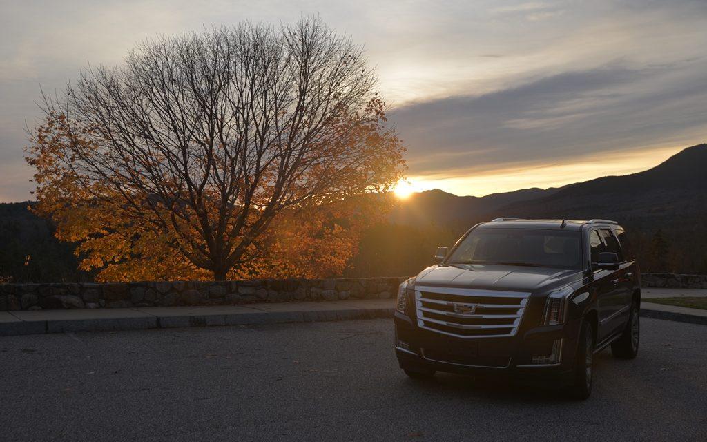 Video Cadillac Escalade – Ein Roadtrip durch New England