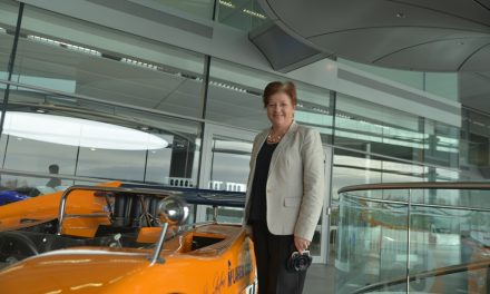 Stippvisite bei McLaren in Woking