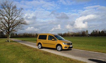 VW Caddy TGI – Praktische Spardose