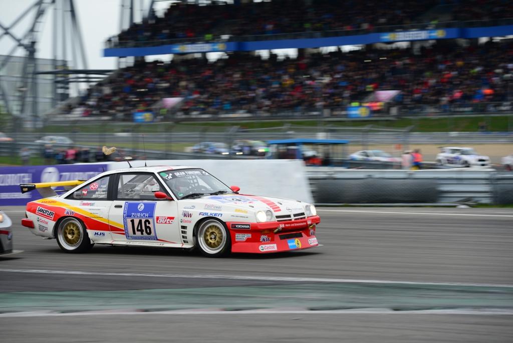 Opel Manta Kissling Motorsport 24-Rennen Nürburgring