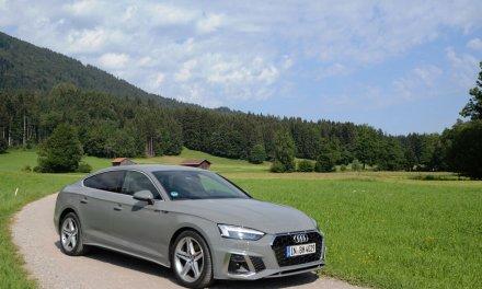 Audi A5 Sportback g-tron – CNG für die Limousine