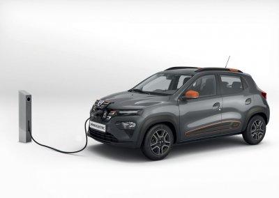 Dacia Spring Electric Ladestation