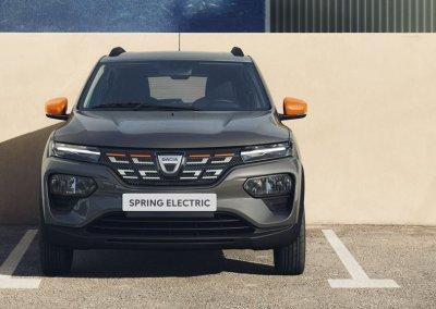 Dacia Spring Electric grau Front