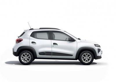 Dacia Spring Electric weiß Seite