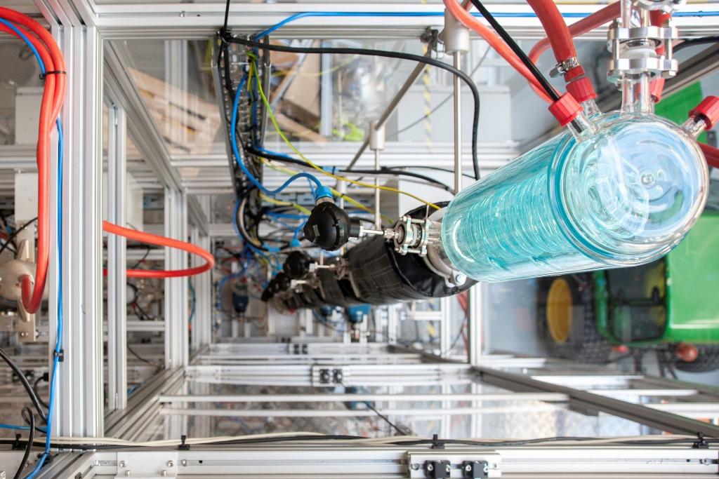 Demonstrationsanlage am TUM Campus Straubing für Biotechnologie und Nachhaltigkeit