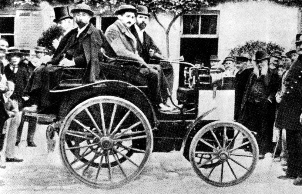 125 Jahre Motorsport bei Mercedes-Benz