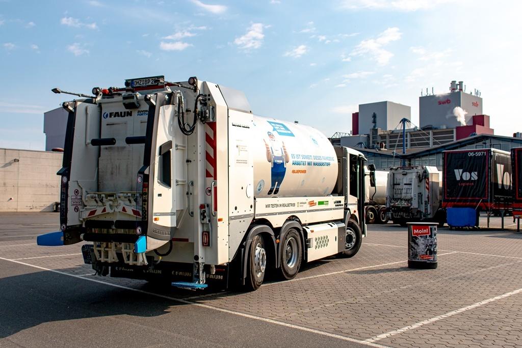 Faun Bluepower Müllfahrzeug