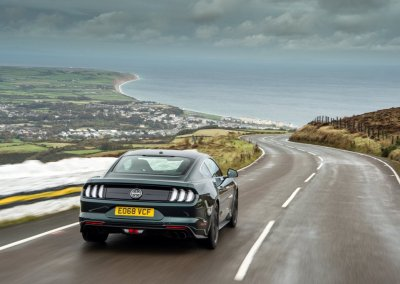 Ford Mustang Bullitt auf Isle of Man Tourist Trophy