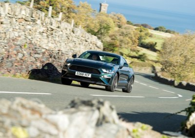 Ford Mustang Bullitt auf Isle of Man Tourist Trophy