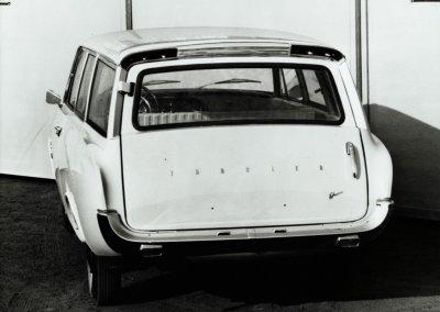 Ford Taunus 17 M P3 Turnier, 1961