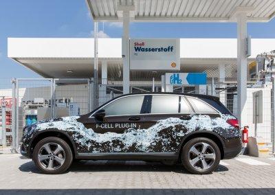 Brennstoffzellenfahrzeug Mercedes FCEV
