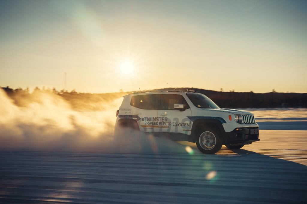 GKN Elektroantrieb Jeep Renegade