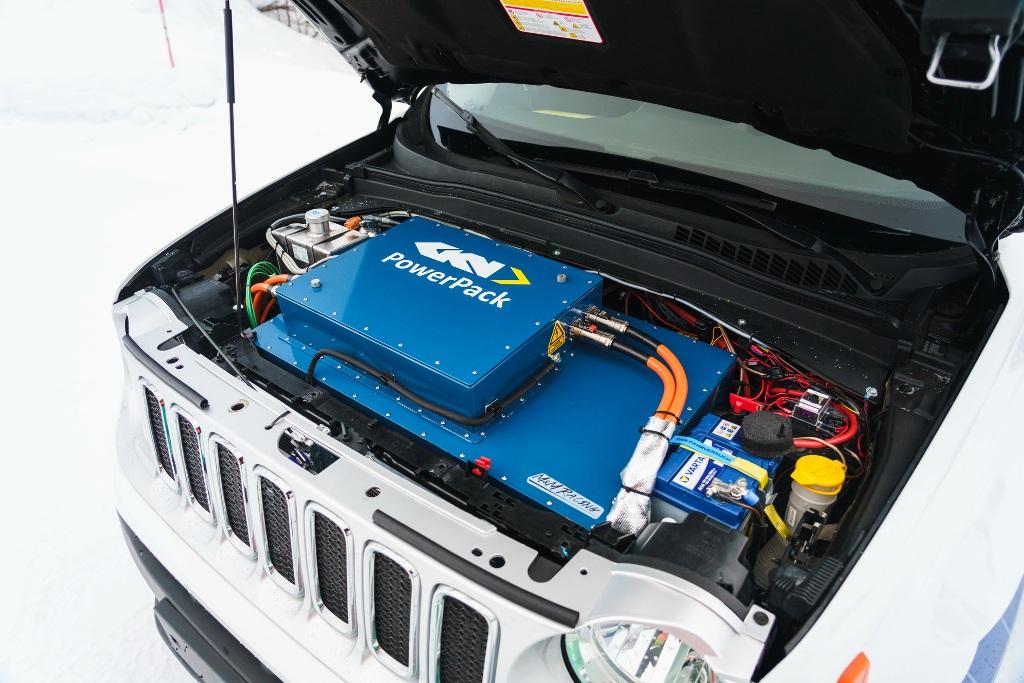 GKN testet Elektroantrieb mit Zweigang-Getriebe und Torque Vectoring