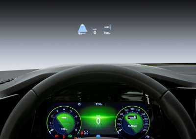 GOLF 8 Head Up Display