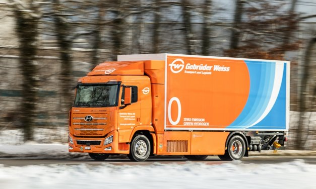 Hyundai Xcient Fuel Cell – Erster Einsatz in der Schweiz