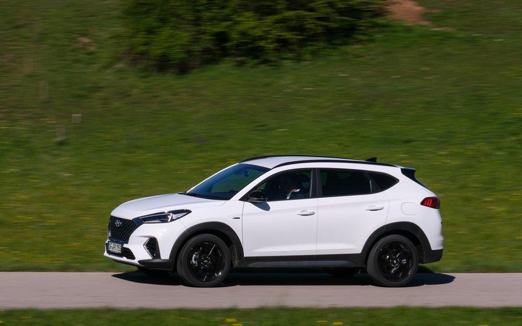 Hyundai Tucson N-Line – SUV mit Sport-Attitüde