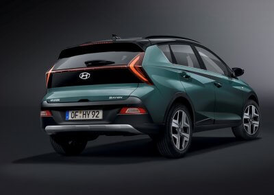 Heck Hyundai Bayon