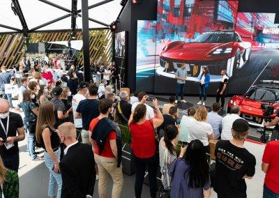 IAA MOBILITY 2021 Porsche Open Space