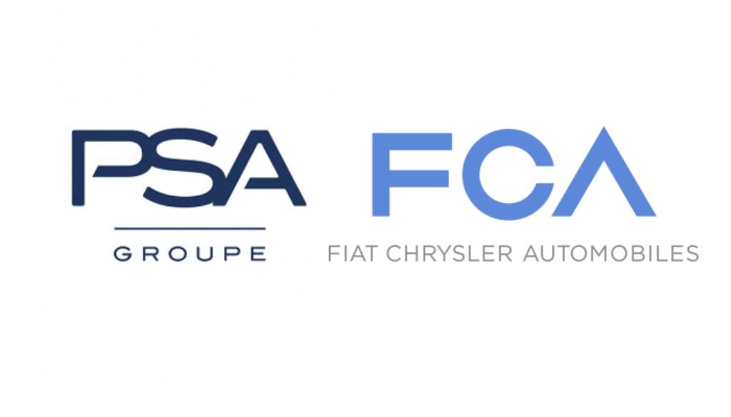 PSA und FCA Logo