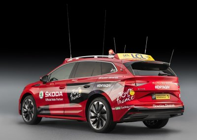 Skoda Enyaq iV Tour de France