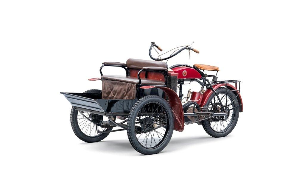 Das LW-Dreirad von Laurin & Klement (1905 – 1911)