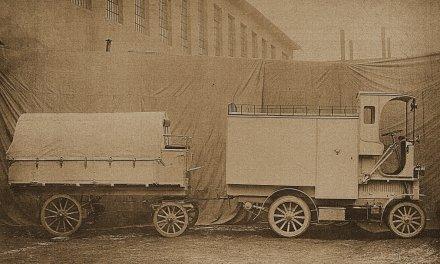 Die Černá Hora-Montenegro Omnibusse und Transporter (1908 – 1909)