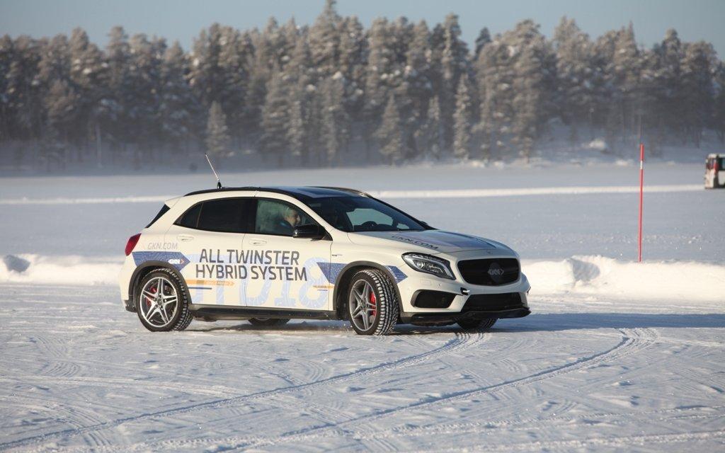 Wintertests mit GKN Driveline