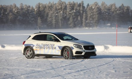 Wintertests mit GKN Driveline