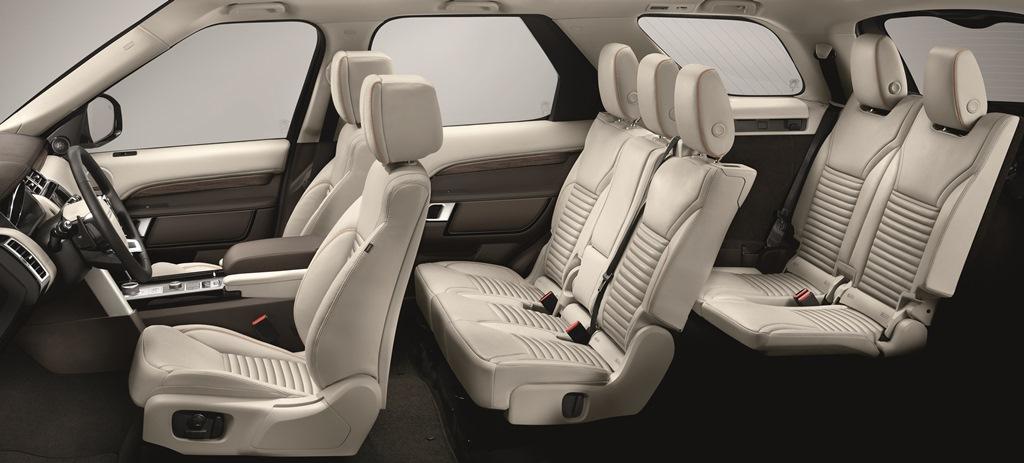 Land Rover Discovery Sieben Sitze