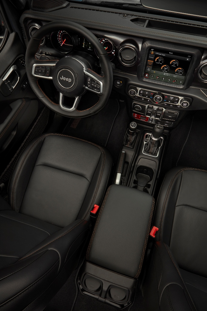 2021 Jeep Wrangler Rubicon 392 Dashboard