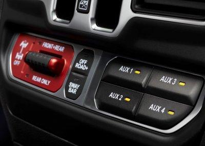 2021 Jeep Wrangler Rubicon 392 Buttons