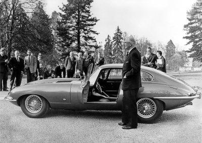 Jaguar E-Type 1961 Geneva 9600HP William Lyons