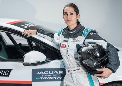 Jaguar I-PACE eTROPHY Célia Martin