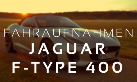 Driving Pleasure – Jaguar F-Type 400 Sport