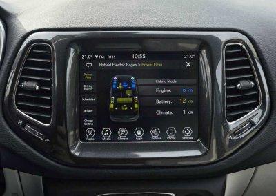 Jeep Compass 4xe Display